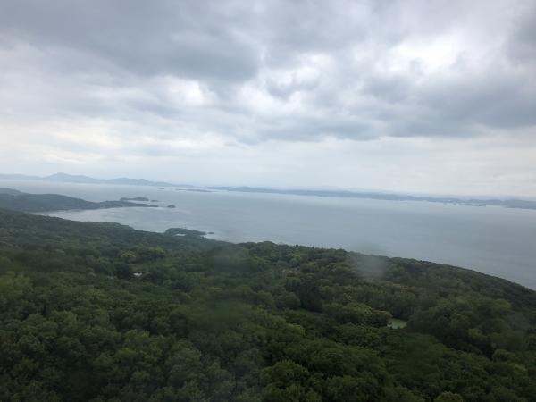 小豆島 絶景&グルメツーリング 小豆島大観音 展望エリア 海側