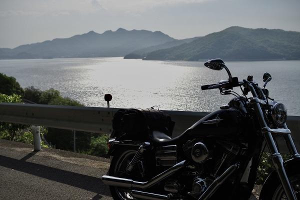 小豆島 絶景&グルメツーリング 海沿いの道 瀬戸内海