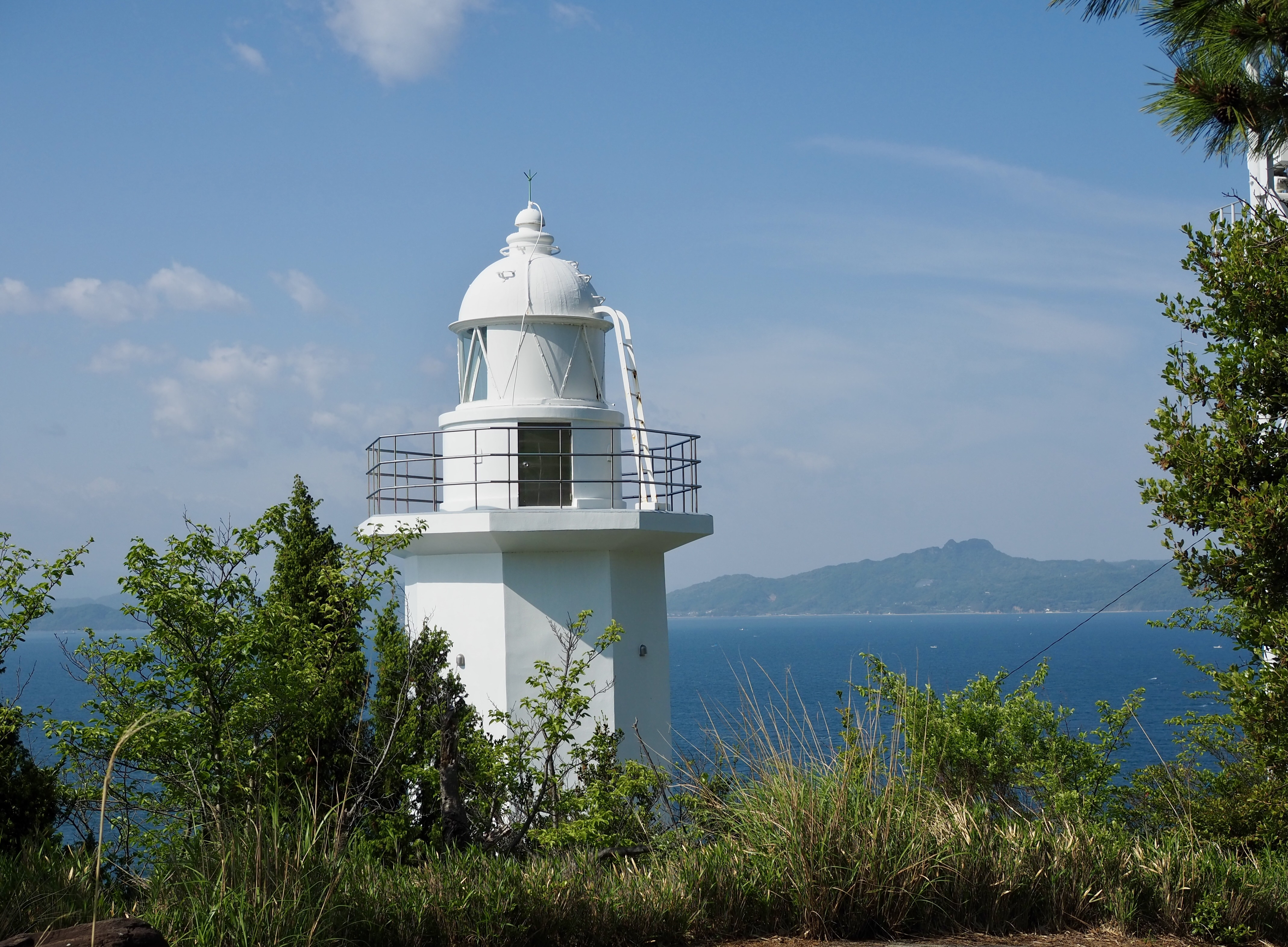 小豆島ツーリング 絶景とグルメ ハーレー 旅 一人旅 地蔵崎灯台