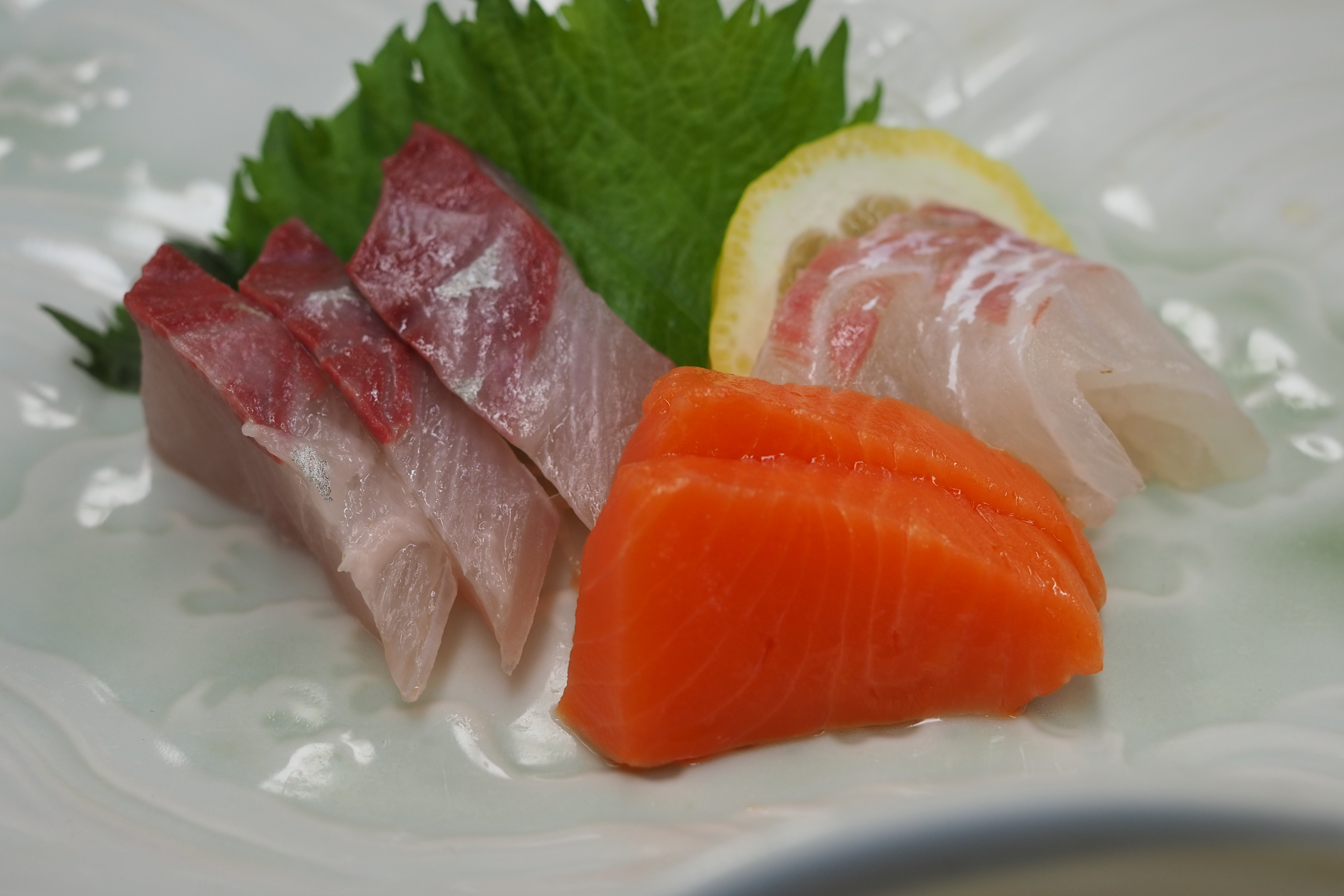 小豆島 絶景&グルメツーリング 旭屋旅館 夕食 お造り お刺身