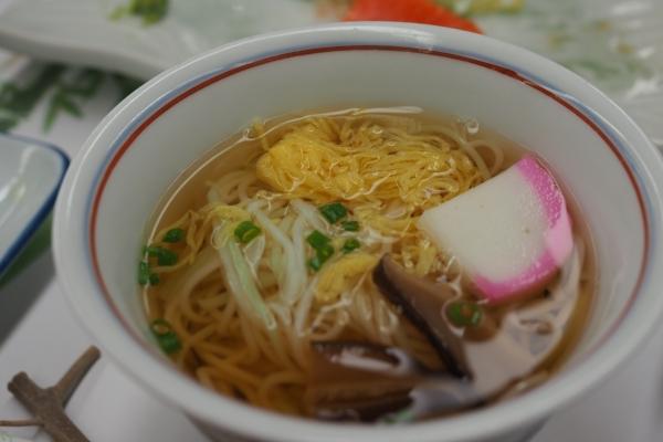 小豆島 絶景&グルメツーリング 旭屋旅館 夕食 素麺