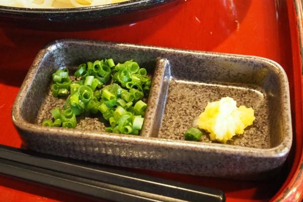 小豆島 絶景&グルメツーリング 素麺 手延べそうめん なかぶ庵 生そうめん 薬味