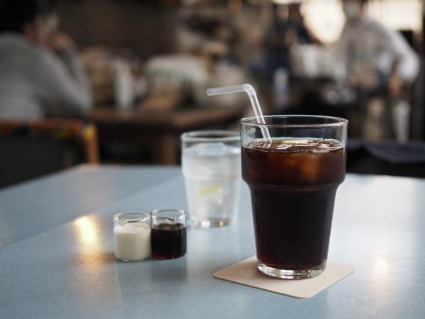 小豆島 絶景&グルメツーリング カフェ EAT アイスコーヒー