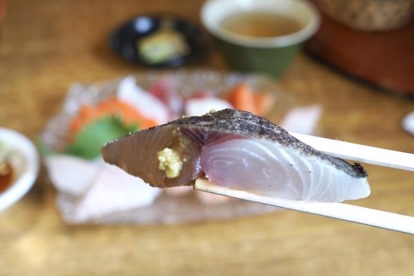 舞鶴ツーリング ランチ 大六丸 海鮮丼 海鮮 サワラ