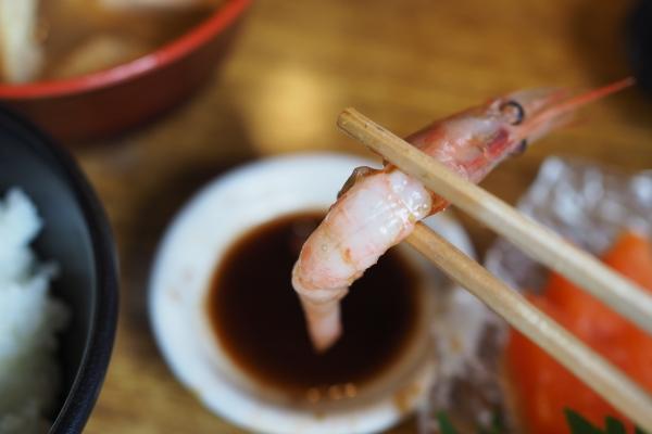 舞鶴ツーリング ランチ 大六丸 海鮮丼 海鮮 甘エビ