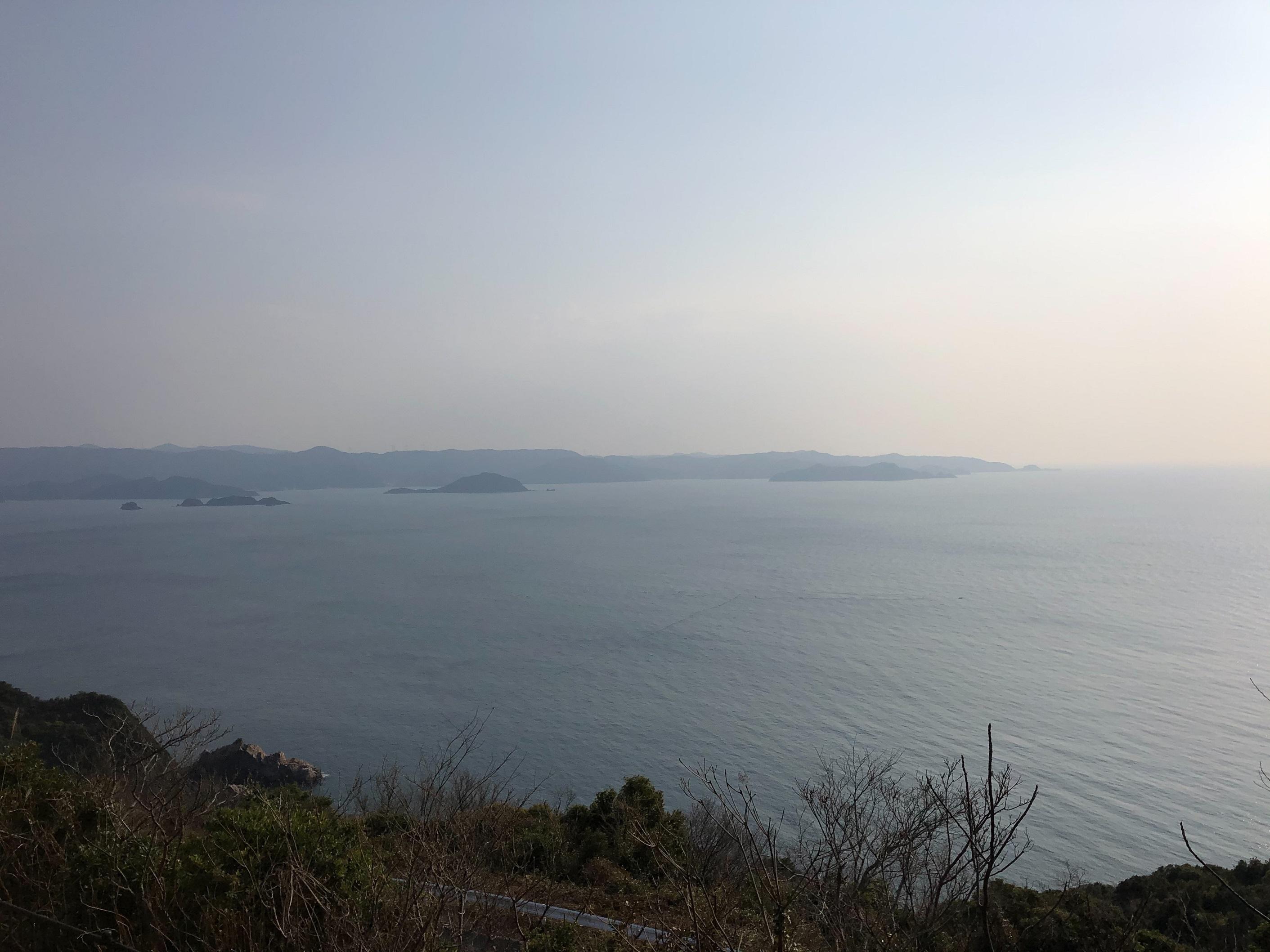 和歌山 有田みかん海道 展望台 湯浅湾 一望 綺麗 絶景