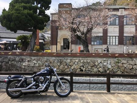 龍野 たつの市 古い町並み 播磨の小京都 龍野城下町 クラテラスたつの ツーリング ハーレー バイク