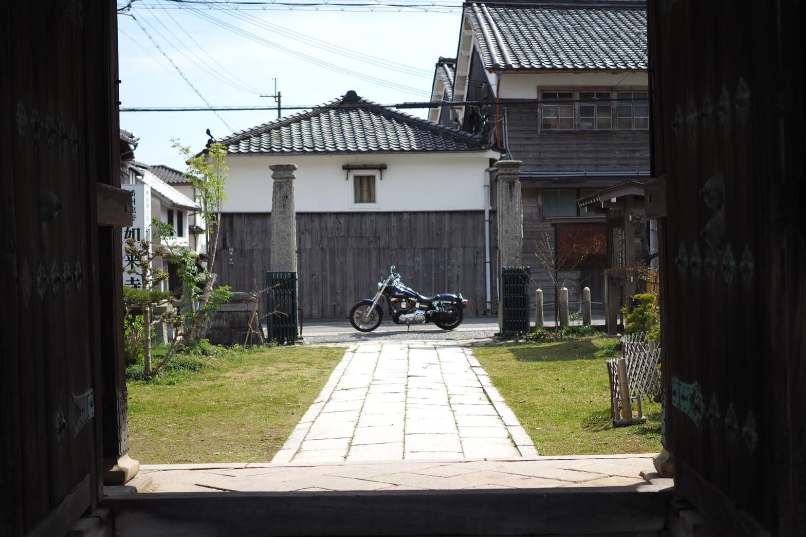 たつの薄口醤油ツーリング 播磨の小京都 龍野城 城下町 如来寺