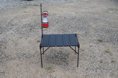 ぴーきちハーレーブログ キャンプ テーブル 調理台