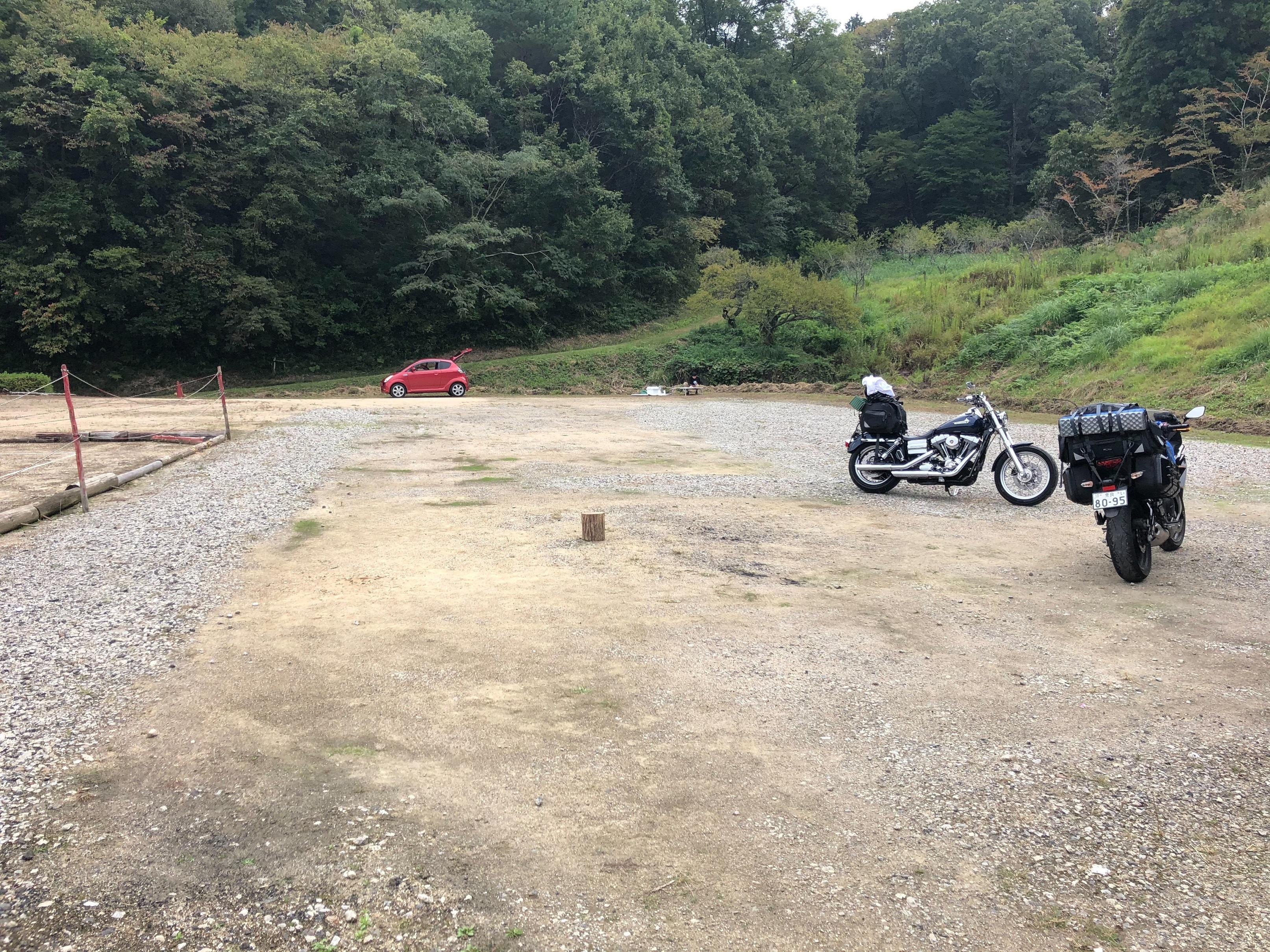 ぴーきちハーレーブログ ロマントピア月ケ瀬 奈良県 キャンプ場 全景