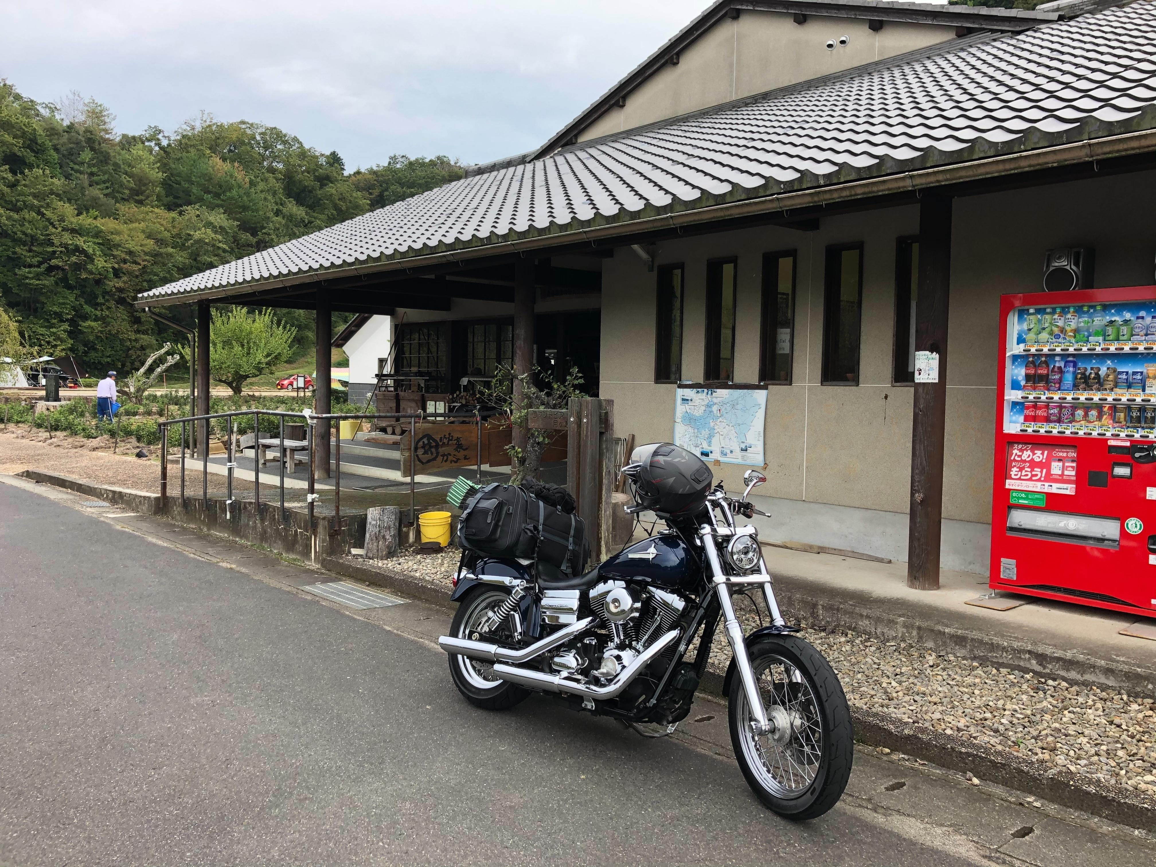 ぴーきちハーレーブログ ロマントピア月ケ瀬 奈良県 キャンプ場