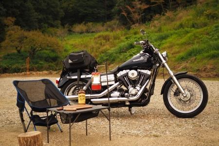 ぴーきちハーレーブログ ロマントピア月ケ瀬 キャンプ場 奈良県 キャンプサイト