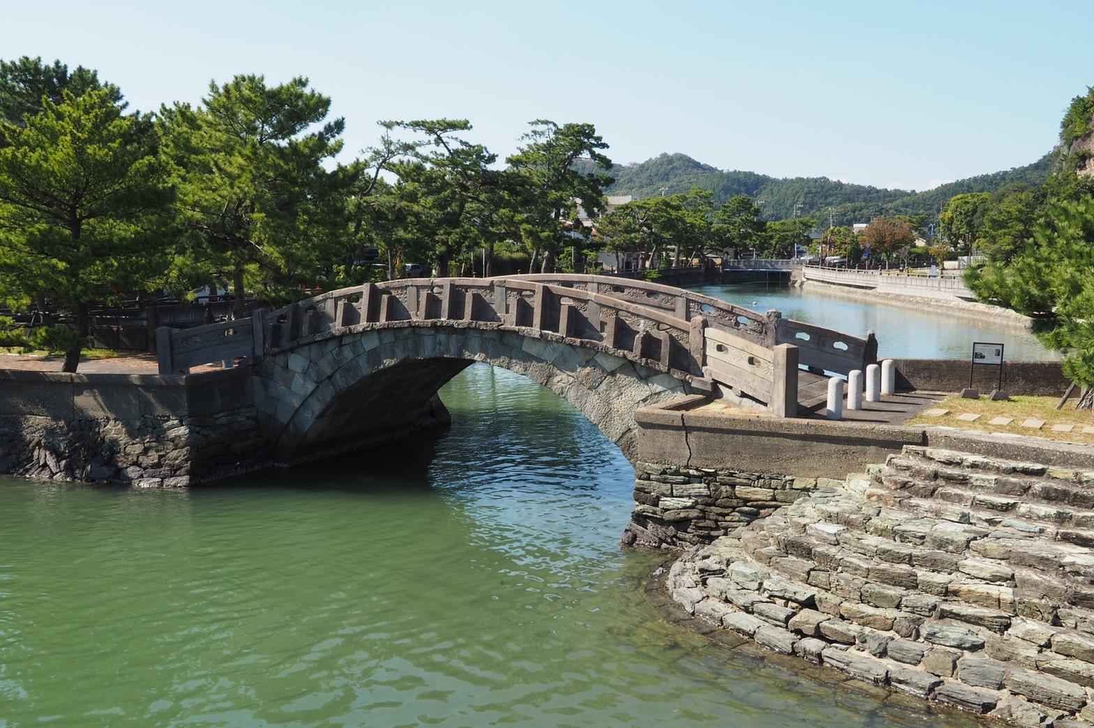 ぴーきちハーレーブログ 和歌の浦ツーリング 不老橋 石橋全景
