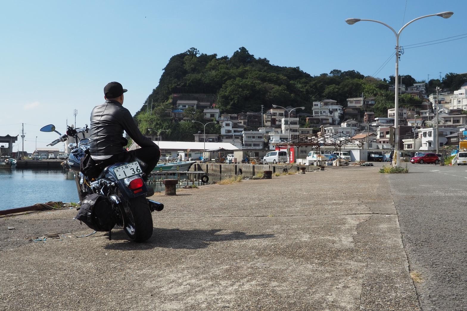 ぴーきちハーレーブログ 和歌の浦ツーリング 雑賀崎 日本のアマルフィ 和歌山 平日にのんびり