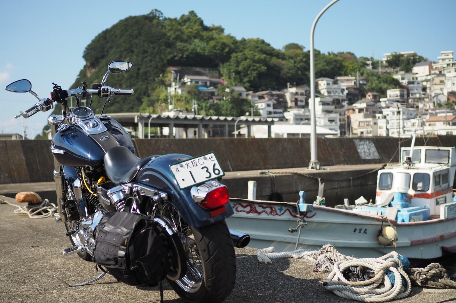 ぴーきちハーレーブログ 和歌の浦ツーリング 雑賀崎 日本のアマルフィ 和歌山 漁港