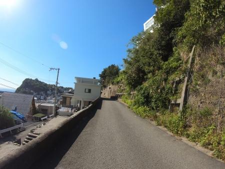 ぴーきちハーレーブログ 和歌の浦ツーリング 雑賀崎 日本のアマルフィ 坂道