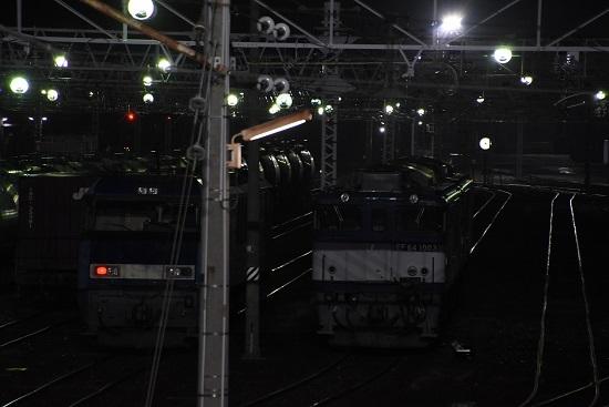 2020年11月21日撮影 南松本にて お休み中のEH200とEF64