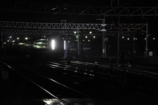 2020年11月21日撮影 南松本にて E353系回送