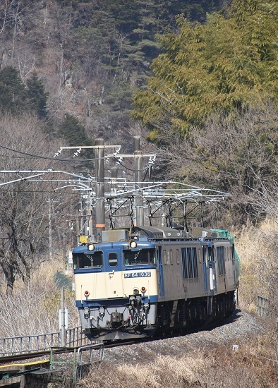 2021年2月21日撮影 西線貨物8084レ 糸瀬山にて DJ誌表紙