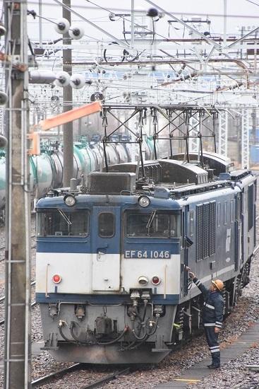 2020年12月30日撮影 南松本にて西線貨物8084レ機回し開始
