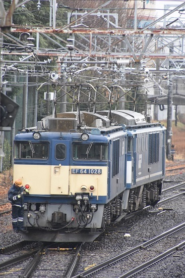 2020年12月30日撮影 南松本にて西線貨物8084レ機回し