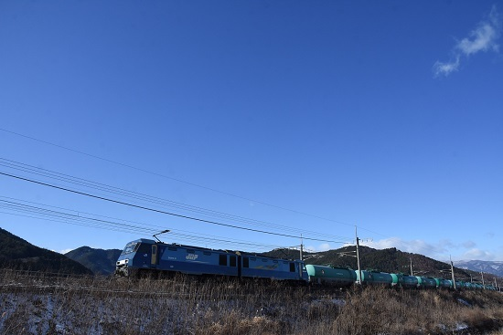 2021年1月4日撮影 東線貨物2080レ EH200-21号機 その2