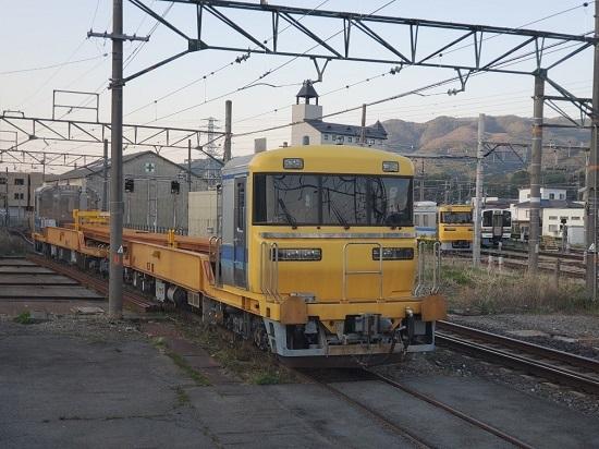2021年4月20日撮影 伊那松島にてキヤ95と97の並び その1