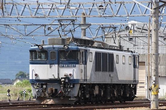 2021年5月22日撮影 篠ノ井派出にて EF64-1027号機