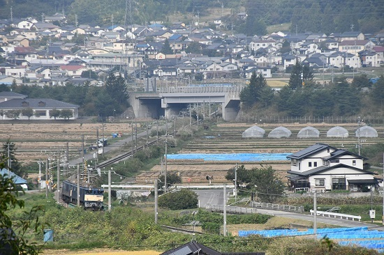 2020年10月3日撮影 篠ノ井線8467レ 聖高原ストレート俯瞰
