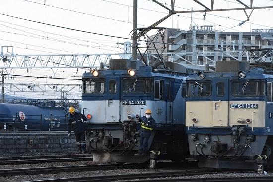 2021年4月10日撮影 南松本にて 篠ノ井線8087レ 機回し その1