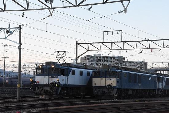 2021年4月10日撮影 南松本にて 篠ノ井線8087レ 機回し その2