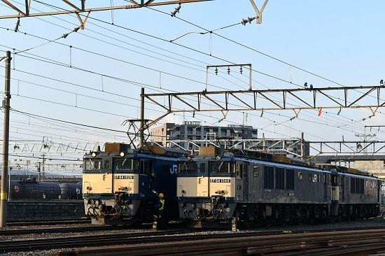 2021年5月8日撮影 南松本にて篠ノ井線8087レ 誘導員さんメモ渡し