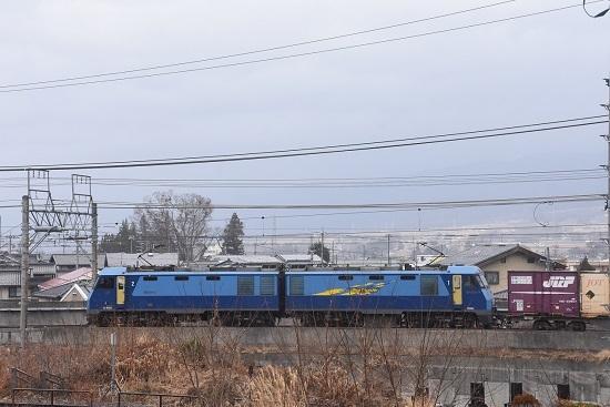 2021年1月16日撮影 東線貨物2083レ EH200-3号機のサイドビュー