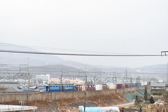 2021年1月16日撮影 東線貨物2083レ EH200-3号機 初撮影のポイント