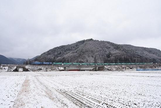 2021年1月17日撮影 東線貨物2080レ EH200-2号機+緑タキ17両