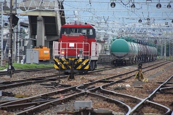 2021年6月12日撮影 南松本にてHD300-9号機 今日は、ここでお休み