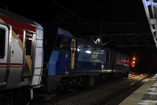 2021年1月21日撮影 岡谷駅にてしなの鉄道SR1系 EH200-15号機
