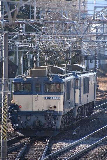 2021年1月30日撮影 南松本にて西線貨物8084レ機回し その3