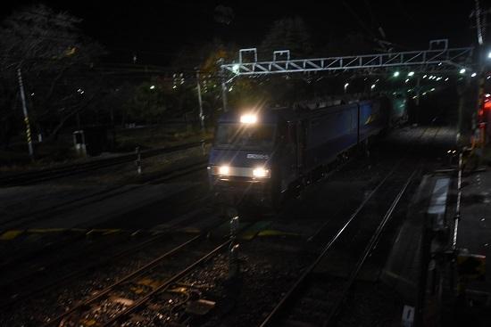 2020年11月21日撮影 南松本にて 篠ノ井線5463レ EH200-5号機