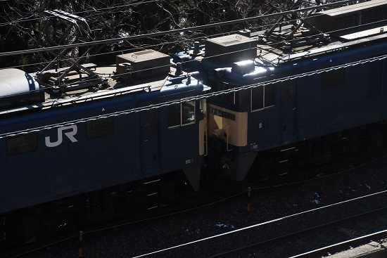 2021年1月30日撮影 西線貨物8084レ 日出塩→贄川 キラリッ!と その1