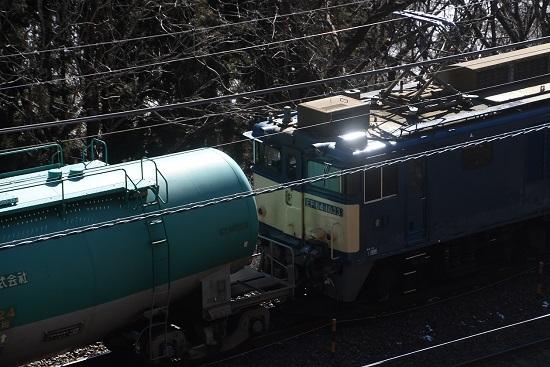 2021年1月30日撮影 西線貨物8084レ 日出塩→贄川 キラリッ! その2