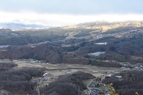 2020年11月21日撮影 篠ノ井線 坂北カーブを俯瞰 1533M 211系 その1