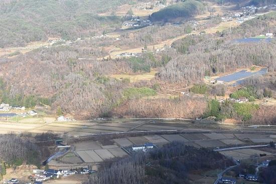 2020年11月21日撮影 篠ノ井線 坂北俯瞰 2004M 383系 WVしなの4号