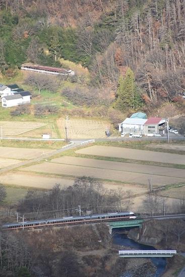 2020年11月21日撮影 篠ノ井線 坂北俯瞰 2004M クロ383系