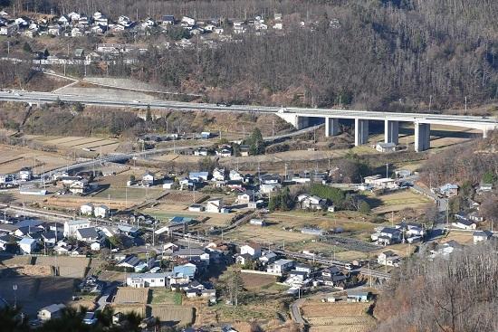 2020年11月21日撮影 篠ノ井線 坂北駅俯瞰 2004M 383系 WVしなの4号