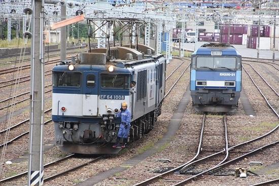 2020年9月19日撮影 南松本にて西線貨物8084レ 機回し 1