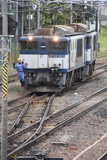 2020年9月19日撮影 南松本にて西線貨物8084レ 機回し 2