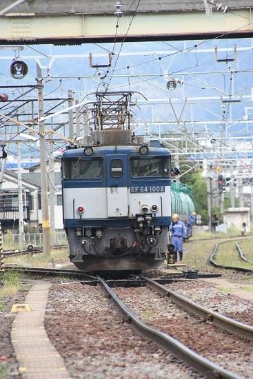 2020年9月19日撮影 南松本にて西線貨物8084レ 機回し 3