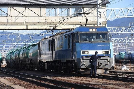 2020年12月6日撮影 東線貨物2080レ 機回し その後2