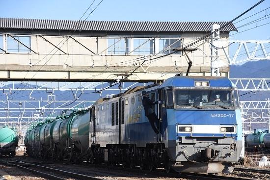 2020年12月6日撮影 東線貨物2080レ 機回し その後3